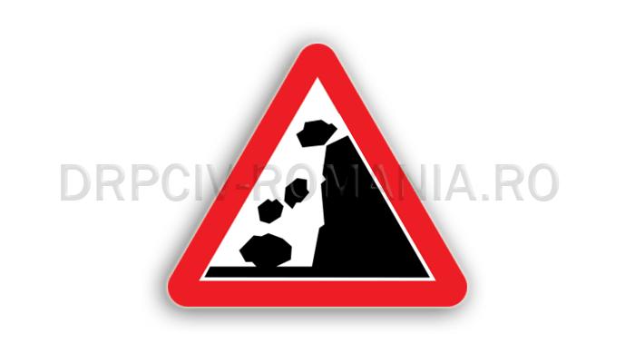 DRPCIV - Căderi de pietre