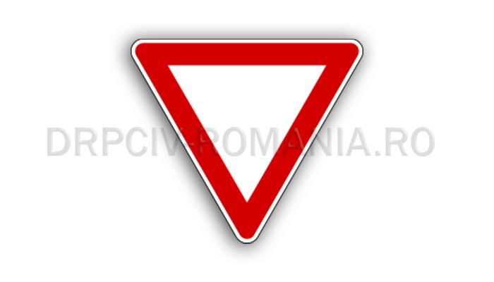 DRPCIV - Cedează trecerea
