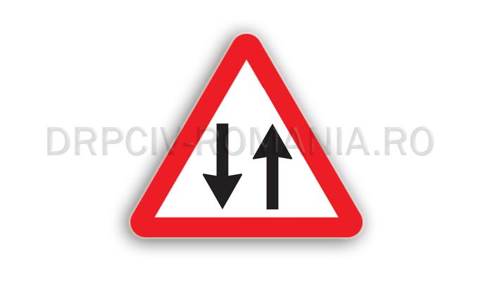 DRPCIV - Circulaţie în ambele sensuri