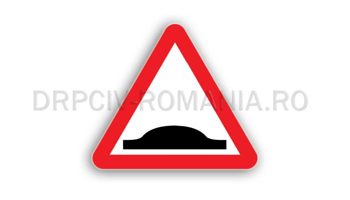 DRPCIV - Denivelare pentru limitarea vitezei