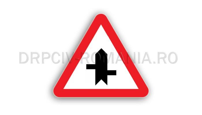DRPCIV - Intersecţii cu drumuri fără prioritate, decalate