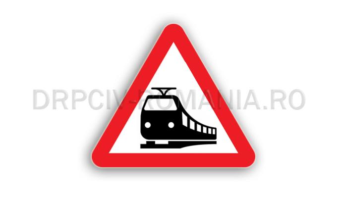 DRPCIV - Trecere la nivel cu linii de tramvai
